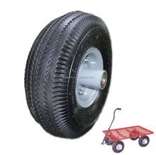 trolley used tyre 10 inch pneumatic rubber wheels