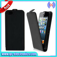 New Clear Back Case Flip Leather Cover For iPhone 5C