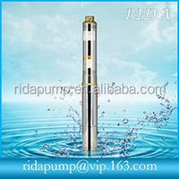 Semi-submersible sump pump for deep well
