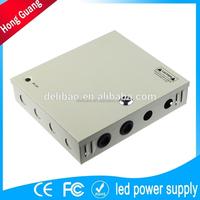 high quality portable ac 220v battery 12v 15a dc regulated power supply
