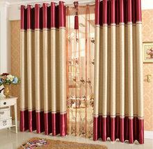 Frame Retardant Blackout Hotel Curtains/ curtain for sliding window
