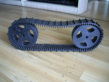 robot rubber tracks/belts 76x13
