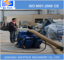 Low price high quality Movable sandblasting machine, mobile stone sand shot blaster , shot blasting machine