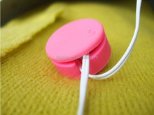 ECO-Friendly macanoon earbud holder silicon code wrap