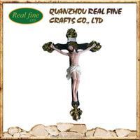 Resin decor 3d jesus cross for sale