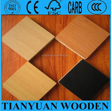solid/wood grain Melamine paper laminated plywood