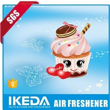 Hanging paper air freshenr/car accessories/scented paper