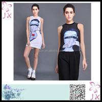 Party girls one piece dress pattern JXWC-0618