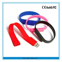 2015 Cheap wristband bracelet bulk 1gb usb flash drives wholesale