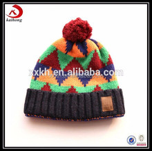 2015 new arrival cheap hot selling pom baby beanies