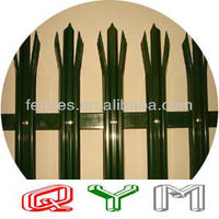 Hot Dipped Galvanized Palisade Fence Vender
