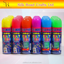 Party supplies color party string/color silly string