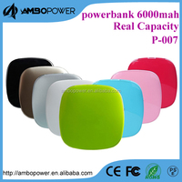 LED indicator 8800mah /10000 mah mobile power bank with hidden bracket and two micro usb