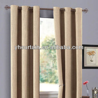 double swag curtain for home use /hotel curtains