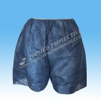 HOT! Nonwoven hospital underwear / disposable boxer for men and women
