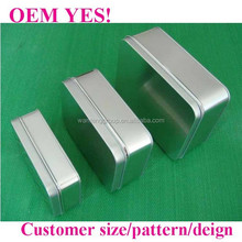 customer design metal boxes for gifts/gifts metal boxes