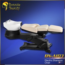 Luxury Electric hair washing salon shampoo chair or shampoo bed
