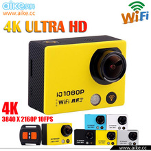 waterproof 1920x1440P@30fps high level dps WIFI sport action Camera SJ4000 Support Slow Motion/Time Lapse with RF Remote cotrol