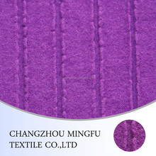 Wool knitted fabric for the coats