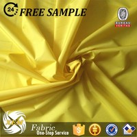 polyester pongee waterproof breathable fabric for parka mountain climbing sports wear fabric