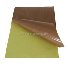 China Suppliers Superious Quality Heat Transfer Type and kevlar Material Type Heat Transfer Fiberglass Coated Teflon PTFE Paper
