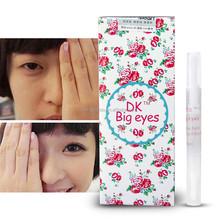 Fashion DK Big Eyes Invisible Glue Fiber Strips Eyelash Glue With Color Box Pack