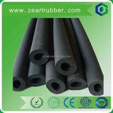 high density rubber foam pipe/wholesale foam rubber insulation