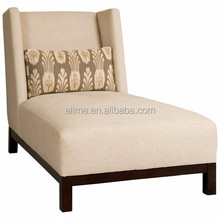 Alime custom modern fabric hotel lounge chaise for two sofa bed for commercial hotel bedroom and living room furniture ALC617