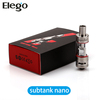 2015 Hottest 3ml Kanger Subtank Nano Kit Wholesale from Elego Fit for iSmoka Eleaf Istick 30&50W / Joye eGo One