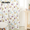 colorful flower embroidery curtain