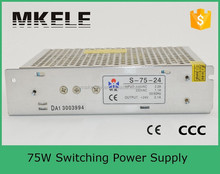s-75-24 24v 3a power supply oem switching power supply smps 24v 3a manufacturer mingwei 75w power supply