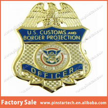 Customs and Border Protection Golden Officer Mini Badge Lapel Pin