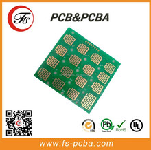 single-sided printed circuit board with small pcb