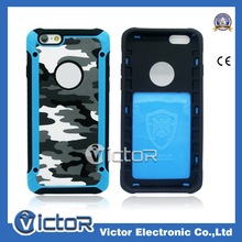 Cool in 2015 Camouflage Design Combo case for iPhone5