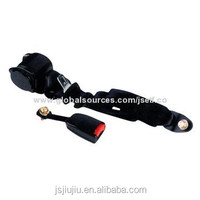 CCC E13 DOT standard seat belt with plastic buckle, bolt and classic type of high strength ploysteer belt