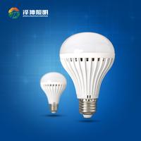 China supplier 180 degree 9W led plastic bulbs led bulb lamp factory