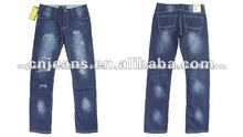 2012 latest design men jeans made in guangzhou china
