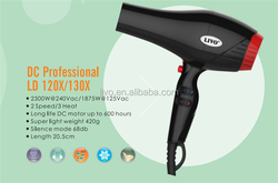 professional salon use hair dryers with hot and freezing wind frequency change