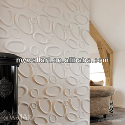 DIY Eco Friendly And Trendy Design 3D Wallpaper And 3D Wall Panels