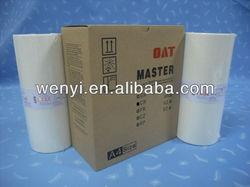 RISO TR/CR A4 master & RISO MASTER & RISO DUPLICATOR digital master roll