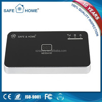 Android&IOS APP controlled smart wireless multilanguage gsm home alarm system kit with sim card