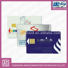 custom contact ic printing card with fob price