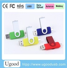 Smart phone usb flash drive,USB with micro connector,mobile phone usb flash drive