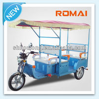 Romai LM-S052-2battery rickshaw electric tricycle three wheeler