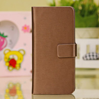 For simple style pu iphone 5c leather case