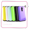 New! Hybrid Case for LG G2 D801 TPU+PC With Smart Frame Hard Mobile Phone Cover