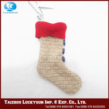 New style excellent quality felt christmas stocking