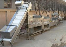 Kohlrabi/Celeriac/Sweet Potato/ Beetroot Spiral Drum Potato Abrasive Roller Peeler/Peeling Line/Brushing/Polishing Machine