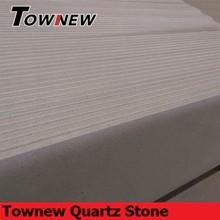White artifical quartz stone wholesale for Kitchen&Bath
