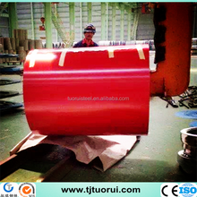 price of color coated steel coils, JIS Standard and Coated Surface Treatment prepainted galvanized steel coil